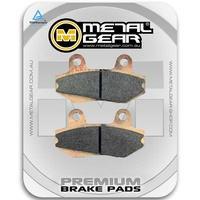 Brake Pads Sintered Front (Single Set)