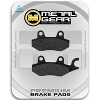 Brake Pads Organic Front Right