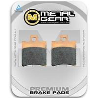 Brake Pads Sintered Grimeca Caliper Rear