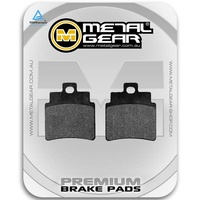 Brake Pads Organic Rear (Single Set)