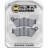 Brake Pads Organic Front (Single Set)